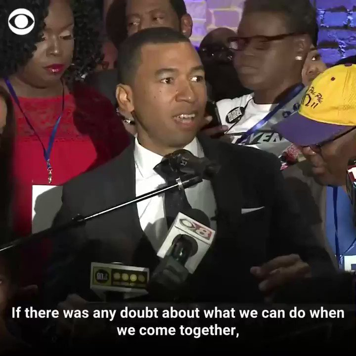 """Steven Reed became the first black mayor of Montgomery, Alabama, in the city's 200-year history on Tuesday. """"Let this go far beyond Montgomery... we made a statement here tonight."""" https://t.co/Q53mkFMNVl https://t.co/rNakHZkos3"""