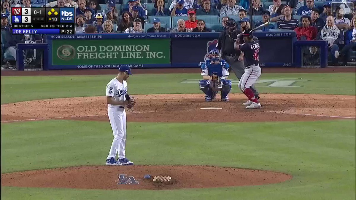 Once a Red Sox, always a Red Sox. Joe Kelly ends the Dodgers season in back to back years.