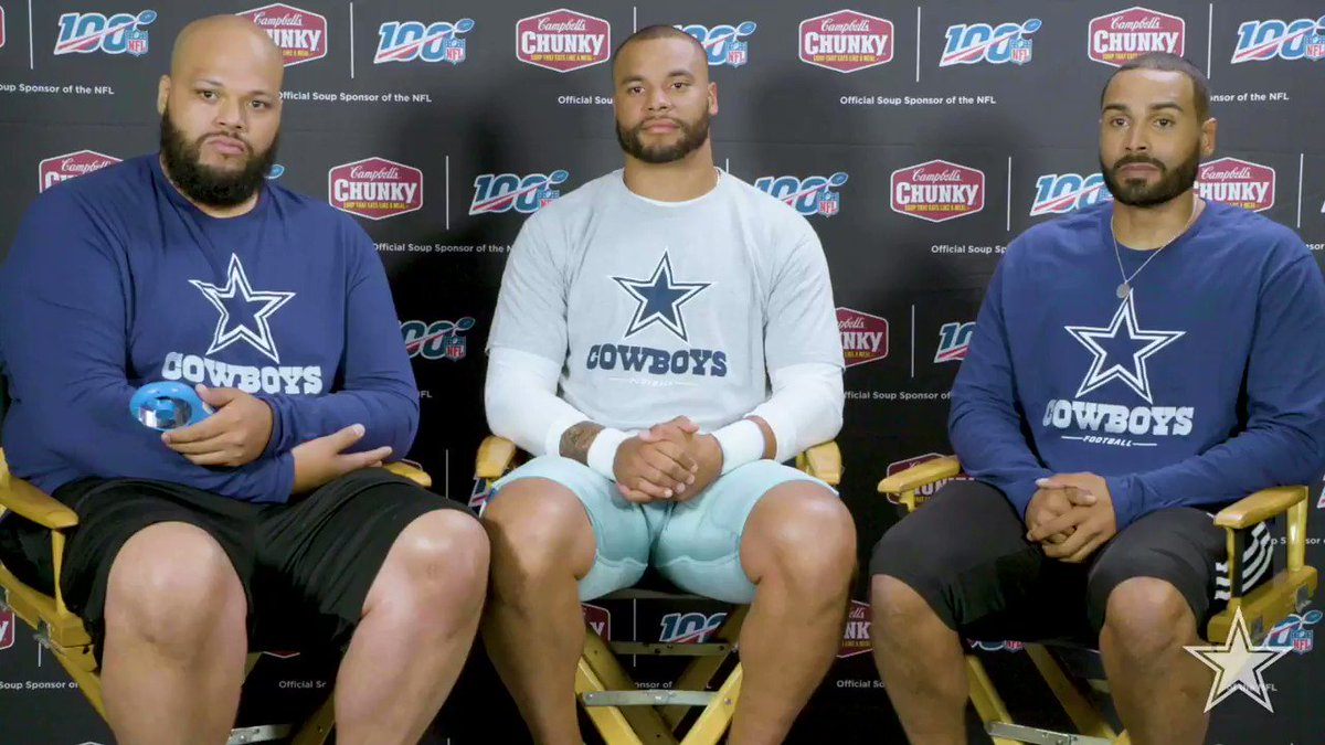 Want to join @Dak and his brothers for #Daksgiving this year? @CampbellsChunky is giving YOU the chance to do so when you buy 2 cans of #ChunkySoup at @Albertsons @TomThumb_Stores for a chance to WIN! #Daksgiving #FootballIsFamily Enter now → bit.ly/2OxbFr7