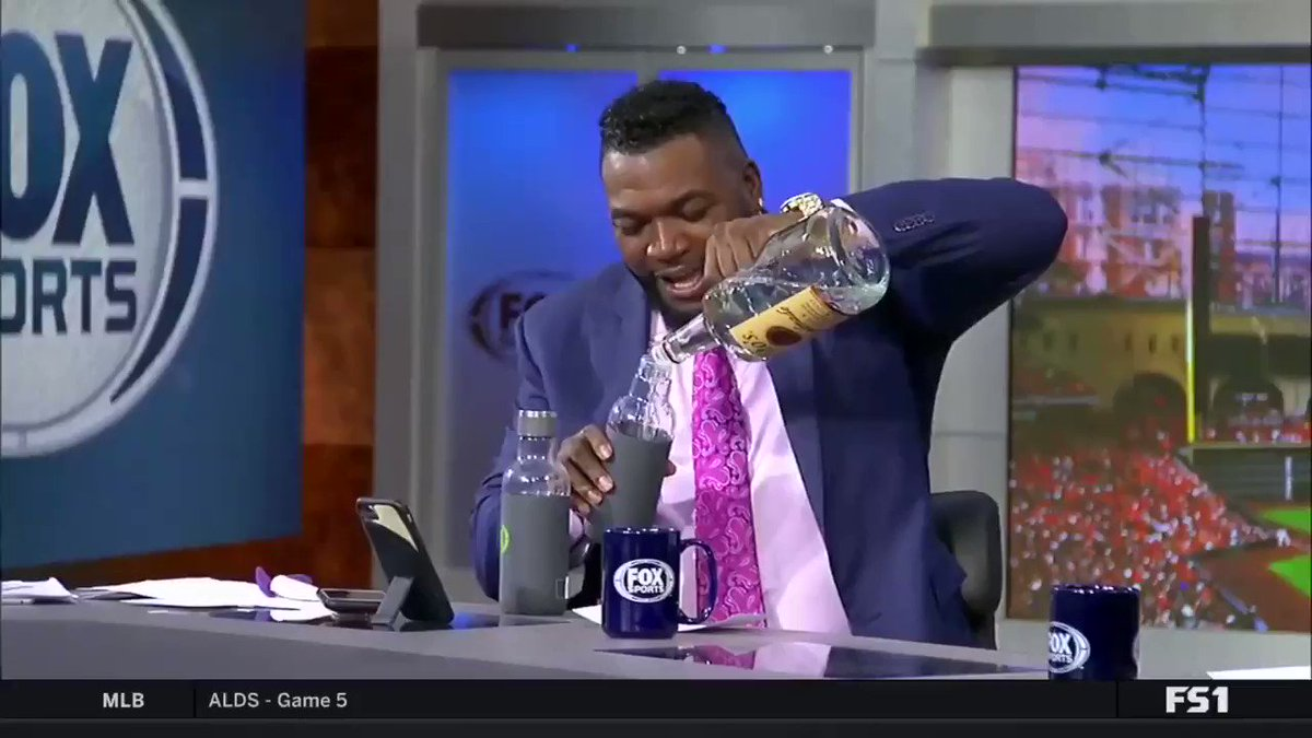 Big Papi spiking Frank Thomas' water bottle was the only good thing to come out of Game 5 of Astros-Rays