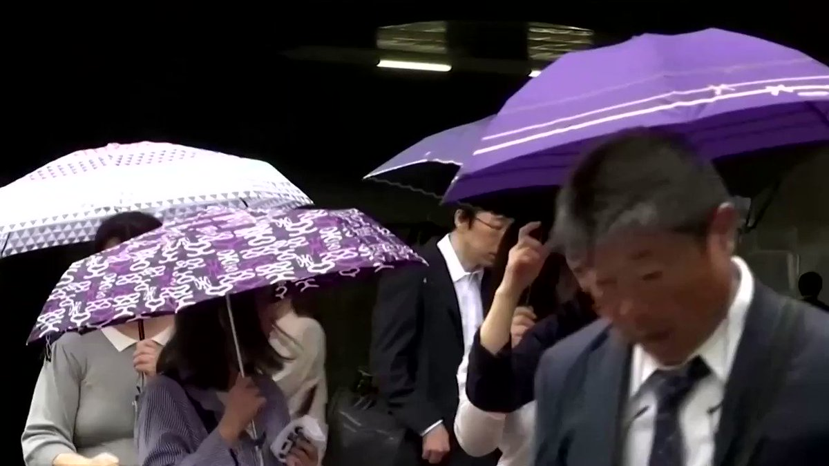 Tokyo braces for Typhoon Hagibis — possibly the strongest to hit the Japanese capital in 60 years https://t.co/Zvz1rcHrPs https://t.co/Cm573MajOl