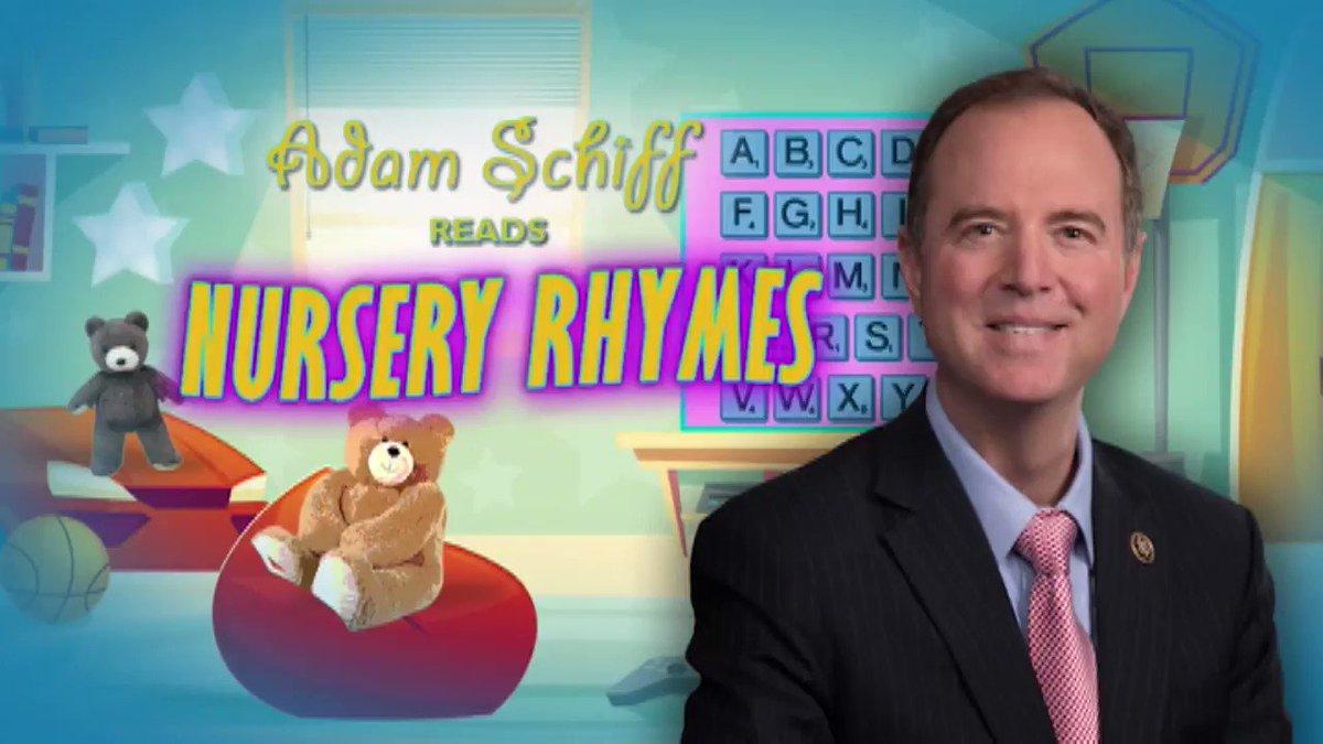 Adam Schiff reads nursery rhymes: Part 1. #Gutfeld
