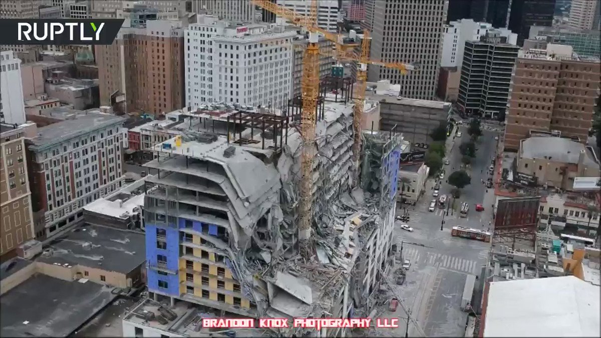 Aftermath of deadly Hard Rock Hotel collapse  READ MORE: