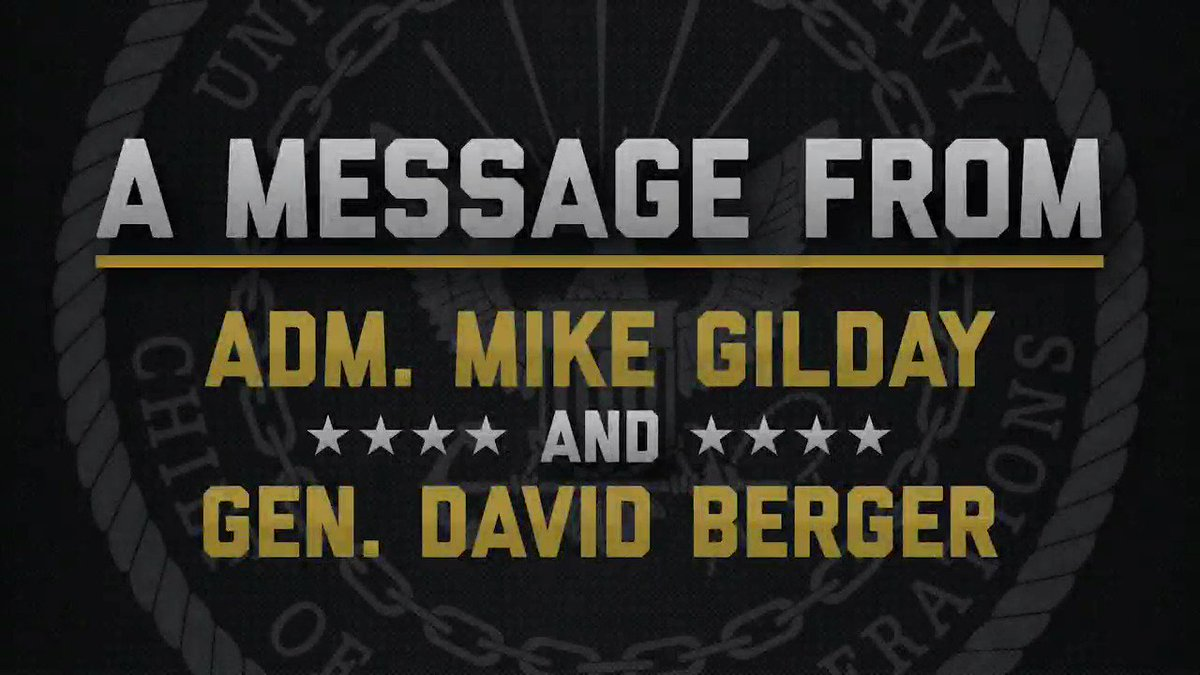 244 and ready for more! Check out this years #USNavy birthday message from @USNavyCNO Adm. Mike Gilday and Commandant of the @USMC Mar Gen. David Berger.