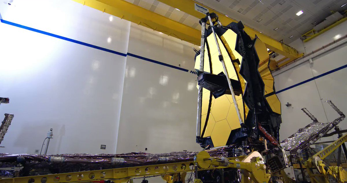 A new look at a recent milestone for the most powerful and complex space science telescope ever created! 🎦 Watch as the two halves of @NASAWebb are mechanically and electronically connected at @northropgrummans facilities: go.nasa.gov/2onnxRT