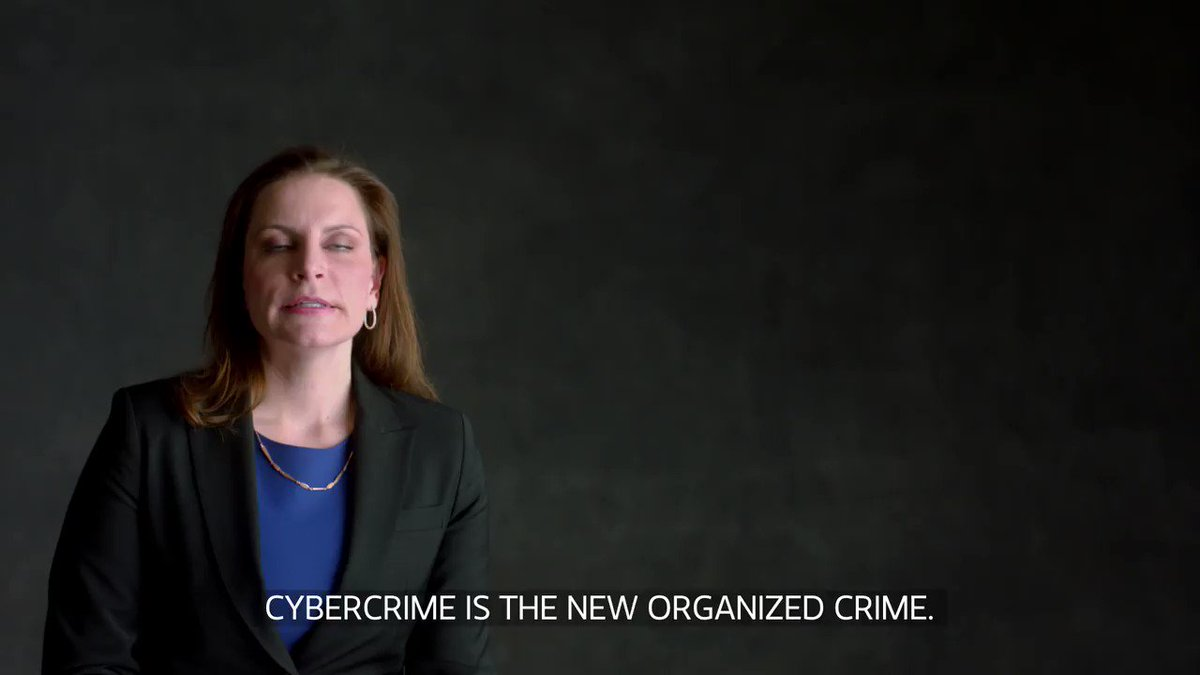 """Image for the Tweet beginning: """"Cybercrime is the new organized"""