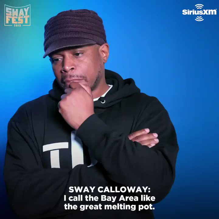 .@RealSway reflects on the city that raised him ahead of Fridays inaugural #SwayFest in Oakland.