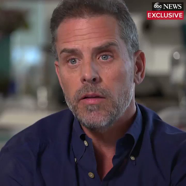 """WATCH TO THE END. In the same breath, Hunter Biden says, """"I didnt have any discussions with my father before or after I joined the board as it related to it, OTHER THAN THAT BRIEF EXCHANGE THAT WE HAD."""" Can't have it both ways. Joe Biden lied."""