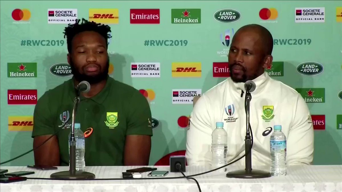 'It's going to be tough challenge for us': South Africa prepares for #RWC2019 quarter-finals match against Japan