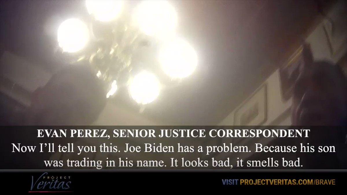 "CNN Senior Justice Correspondent Evan Perez on Joe Biden: ""Joe Biden has a problem because his son was trading in his name. It looks bad, it smells bad"""
