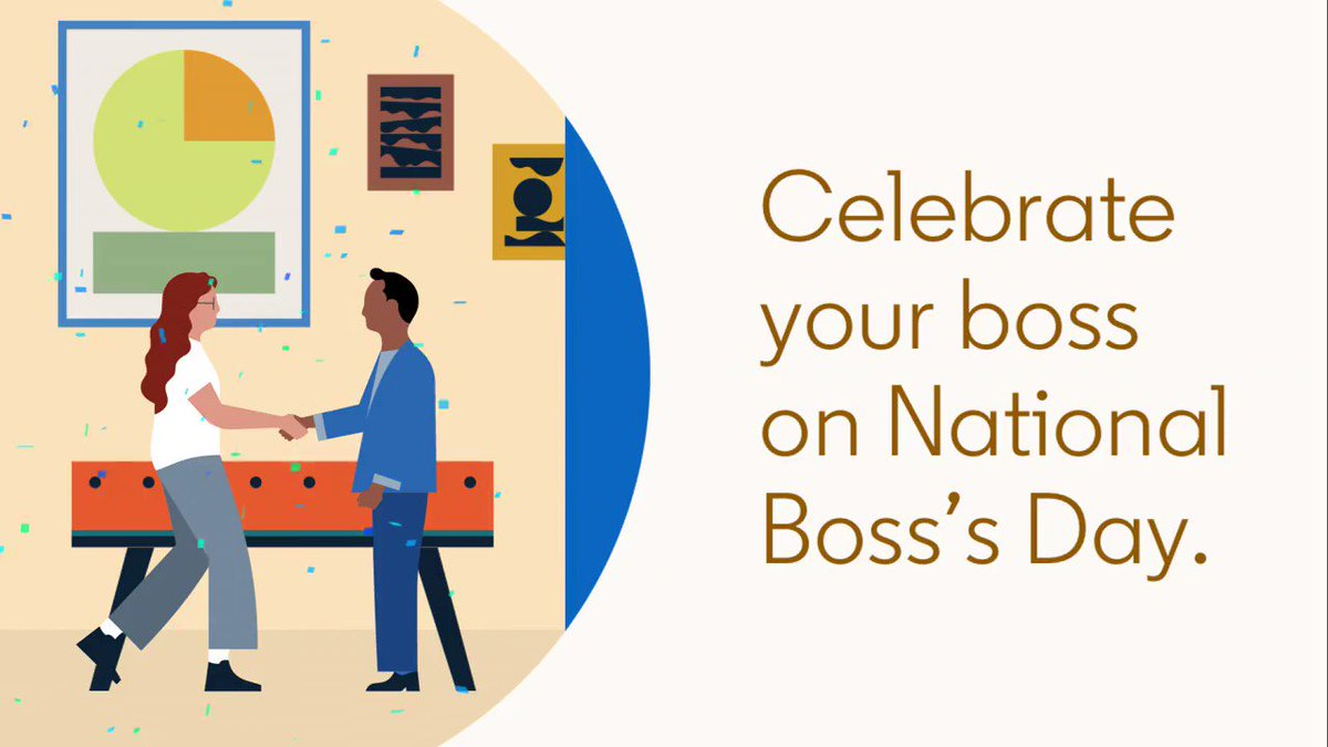 Image for the Tweet beginning: Great bosses are equal parts
