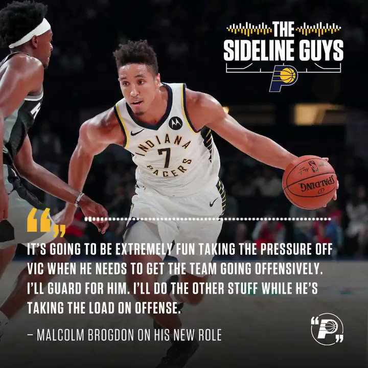 The Sideline Guys are back with a full 2019-20 Season Preview. Hear @PatBoylanPacers and @JJFSINDIANA recap a busy preseason  🎧  Soundcloud: http://bit.ly/35F1XJq  iTunes: https://apple.co/35HegVg  Spotify: https://spoti.fi/2Mll83m