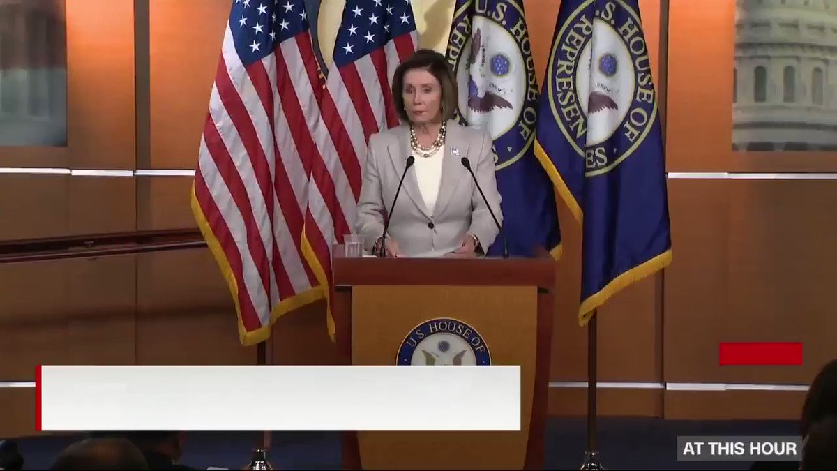 """Speaker Nancy Pelosi remembers Rep. Elijah Cummings: """"In the Congress, Elijah was considered a North Star. He was a leader of towering character and integrity""""  http://cnn.it/2VQbrwO"""