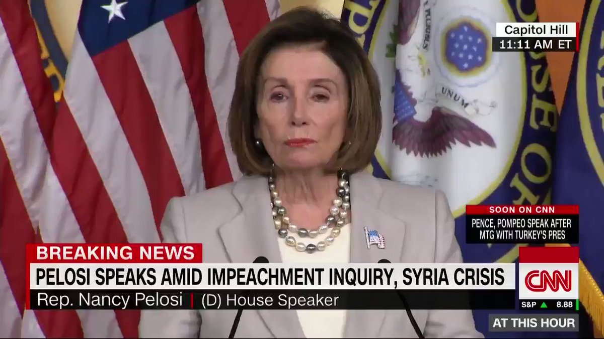 Speaker Nancy Pelosi on how long the impeachment inquiry will take: The timeline will depend on the truth line