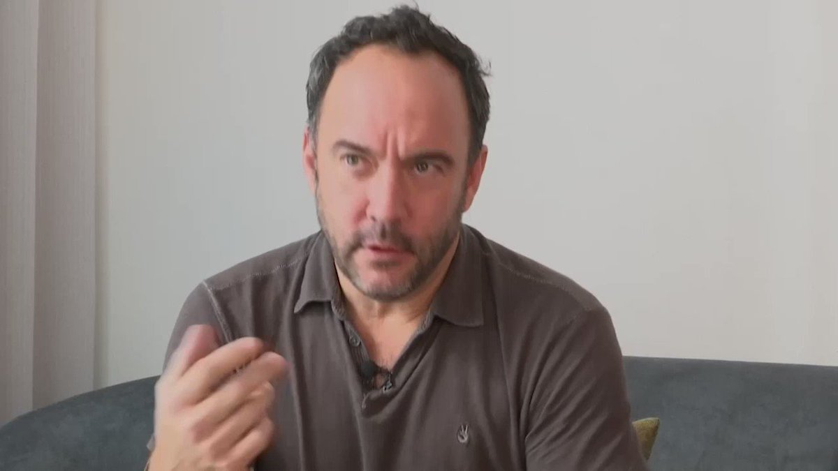 """""""INSANE"""" NOMINATION: Dave Matthews reacts to his band's nomination to the Rock and Roll Hall of Fame. #RockHall #DMBMore at http://apne.ws/GOYFlDG"""