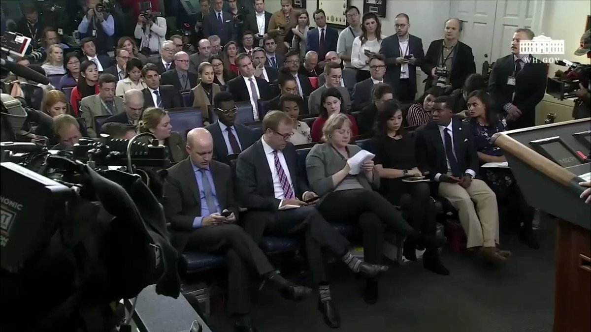WATCH: NPR's @ayesharascoe questions acting White House chief of staff Mick Mulvaney on President Trump asking a foreign leader to investigate his political opponents. (Video via the White House)  More: