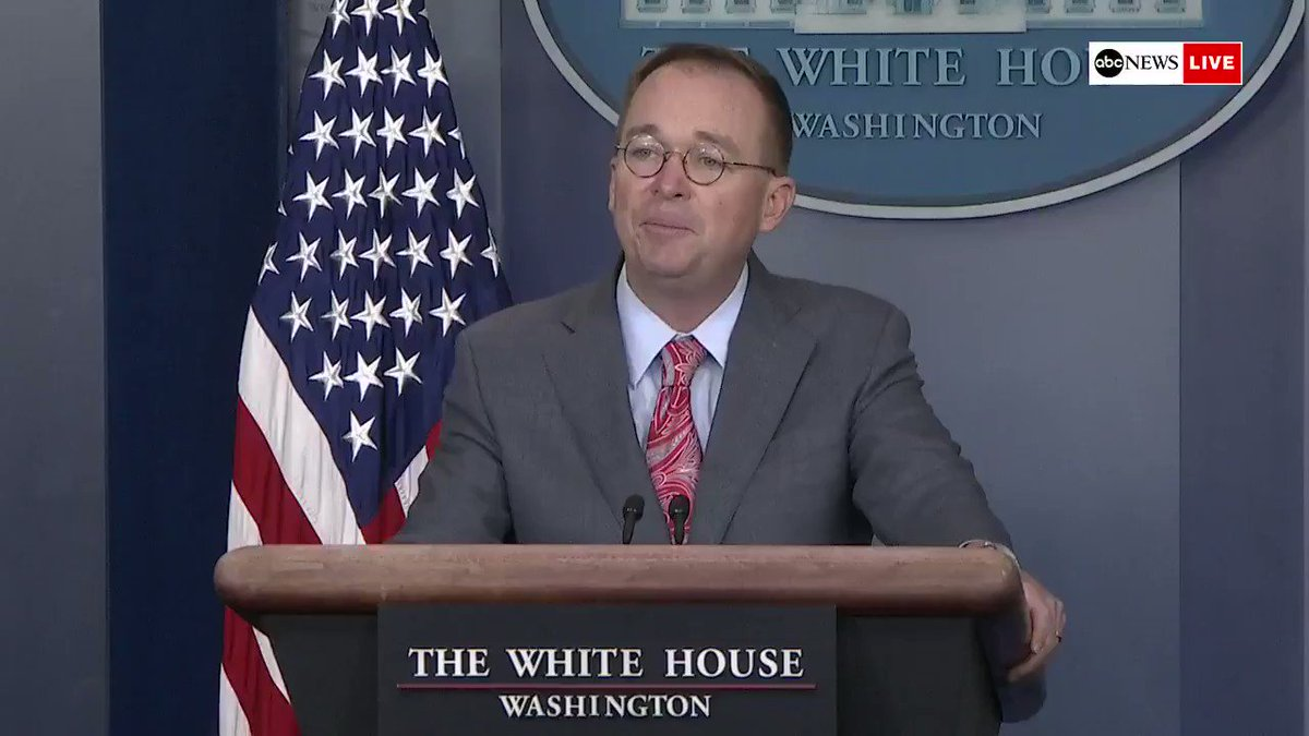 Acting White House chief of staff Mick Mulvaney defends the decision to hold next years G-7 Summit at the presidents Trump National Doral Miami resort: Donald Trumps brand is probably strong enough as it is and he doesnt need any more help on that  https://abcn.ws/35HXghV