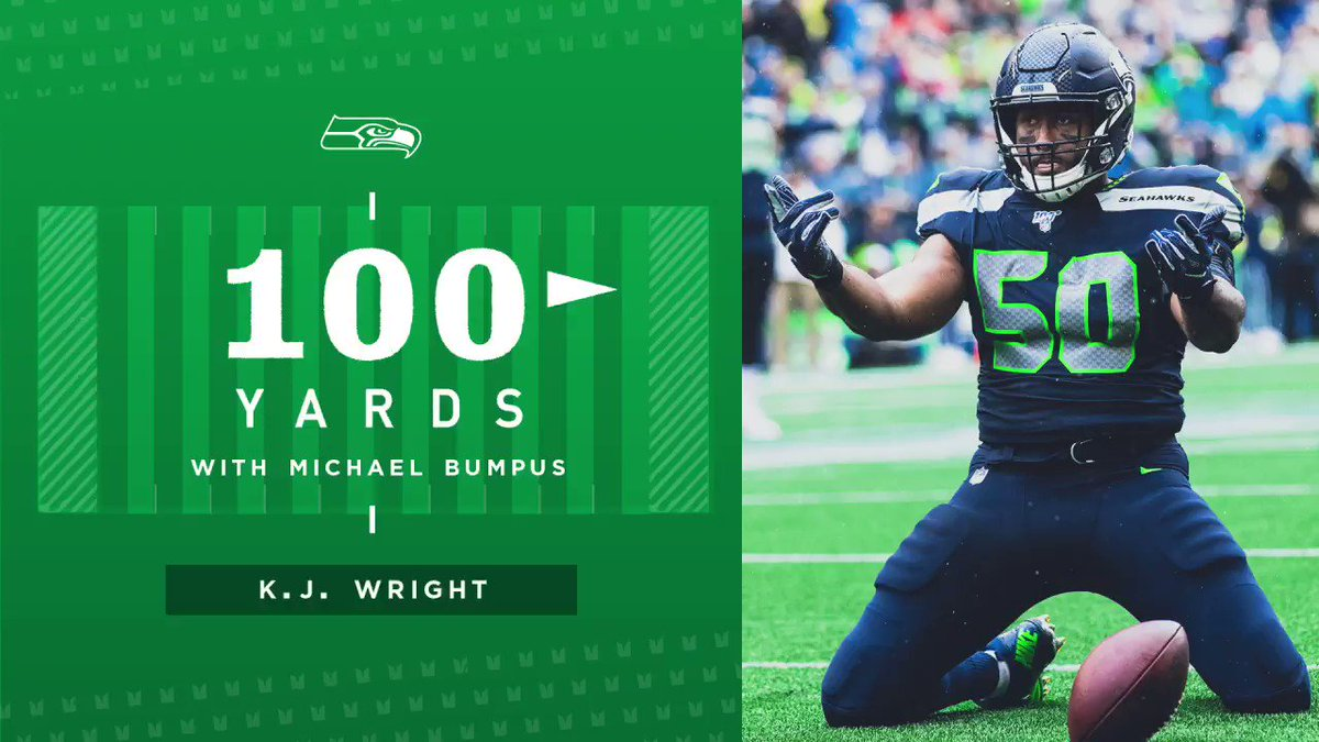 In this episode of 100 Yards with Michael Bumpus, @KJ_WRIGHT34 talks Southern cooking, his first game in the league, and more! ⬇️