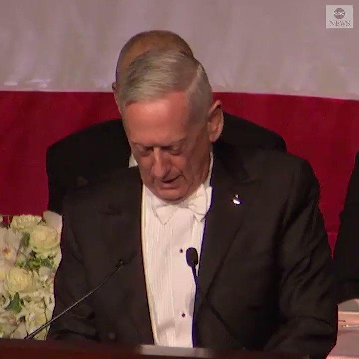 NEW: Former Defense Secretary Gen. James Mattis roasts Pres. Trump: I earned my spurs on the battlefield.  https://abcn.ws/2MOpMpv