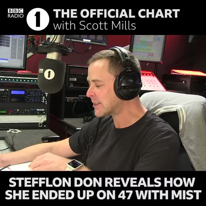 """""""I've actually never done that before!""""  @Stefflondon tells @Scott_Mills how an Instagram message to @tweet_mist led to her featuring on '47' 🔥"""