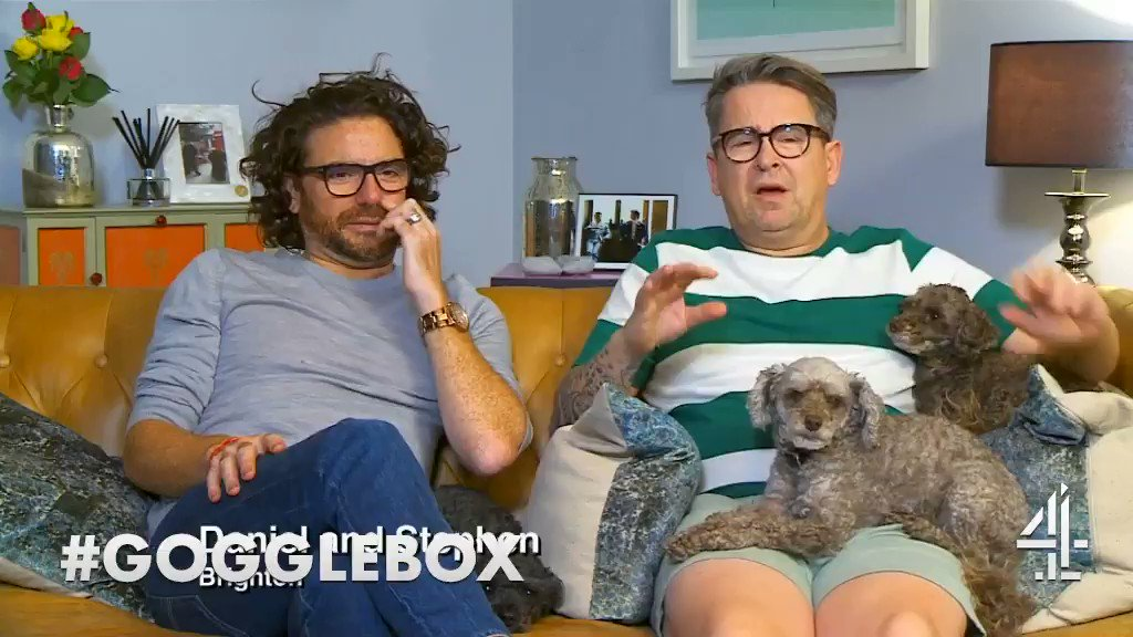 That scrotum feeling #PainPusAndPoison #Gogglebox