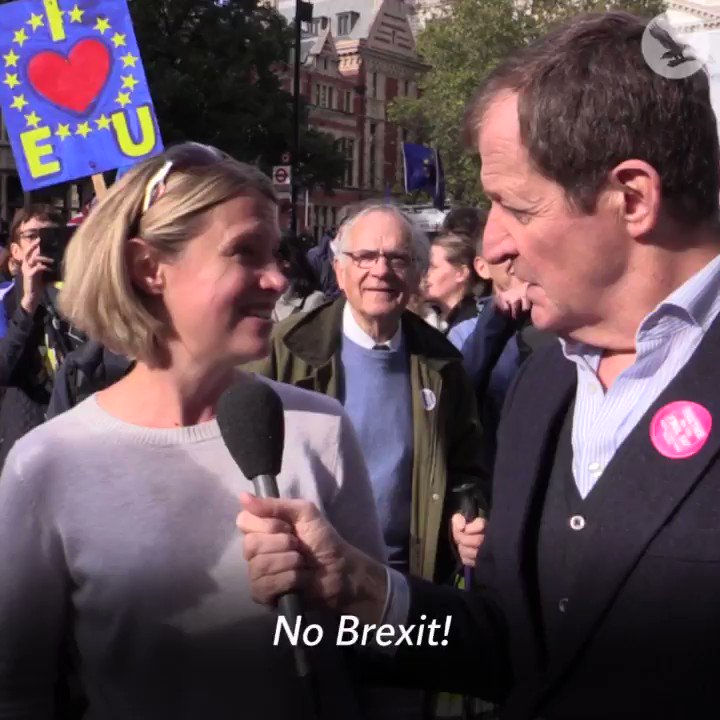 In London, hundreds of thousands demand another chance to vote on Brexit
