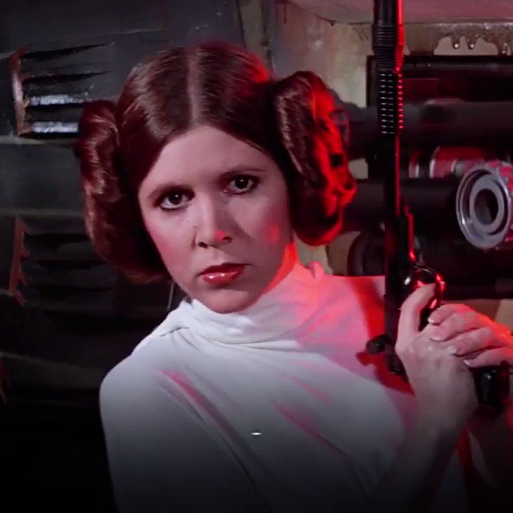 @StarWarsUK's photo on Carrie Fisher
