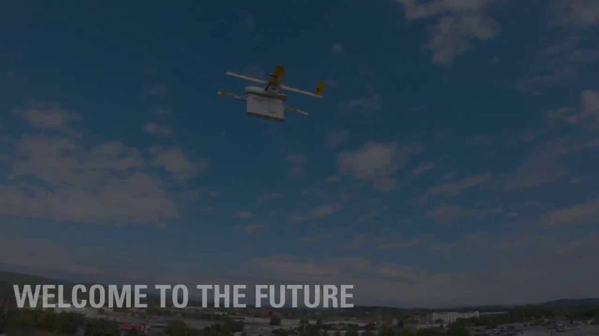 Deliveries by drone could be closer than you think. With the launch of the  @wing pilot drone programme in the U.S, your FedEx package could be flying its way to your doorstep in no time.  #Tech  #Innovation  http://at.van.fedex.com/6018TrBa8