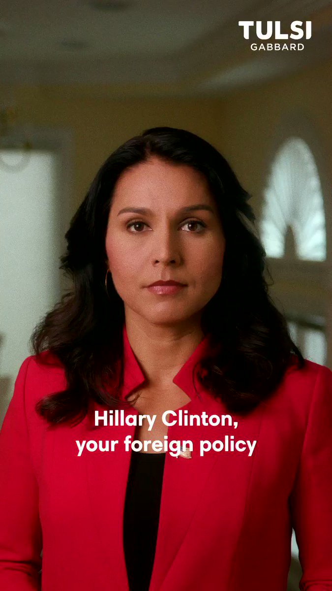 Tulsi Gabbard Calls On Hillary To 'Acknowledge The Damage' She Has Done On Foreign Policy