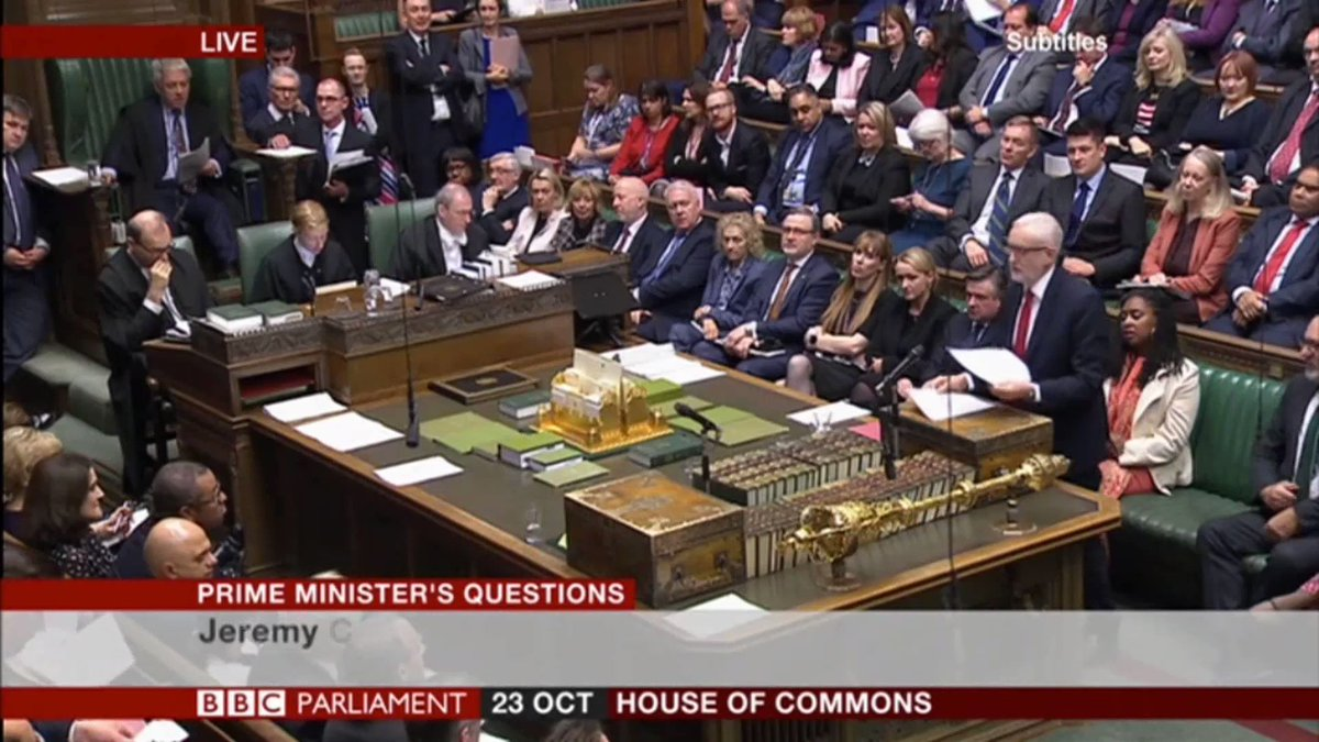 [@BorisJohnson] once said employment regulation was back breaking and he voted for the 2016 anti-trade union Act, which stripped away employment protections and the provisions in the Bill offer no real protection at all. - @jeremycorbyn during #PMQs today.