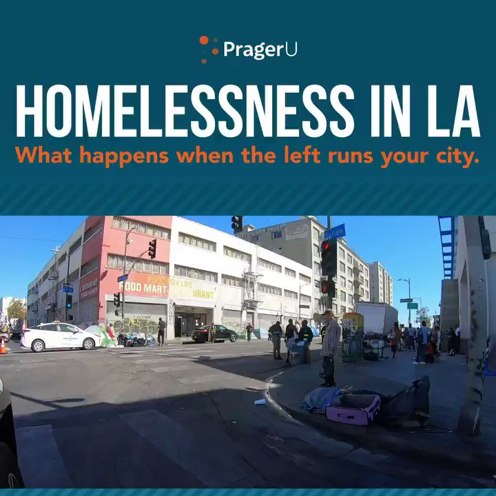Replying to @prageru: SHOCKING: Footage of homelessness in Los Angeles — this is what happens when the Left runs your city!