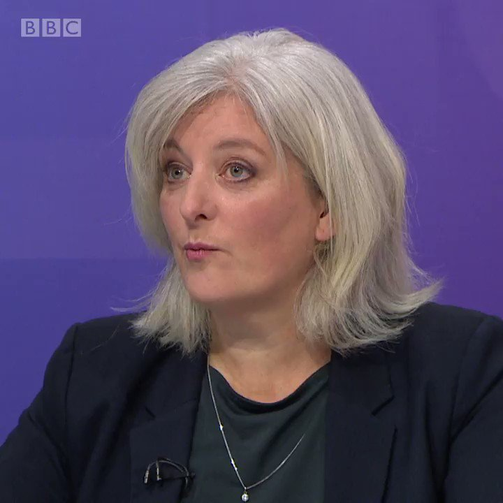 """We believe the best way to get out of this Brexit crisis is a people's vote"" @CarolineVoaden criticises Boris Johnson's deal and says the Liberal Democrats want another EU referendum. #bbcqt"