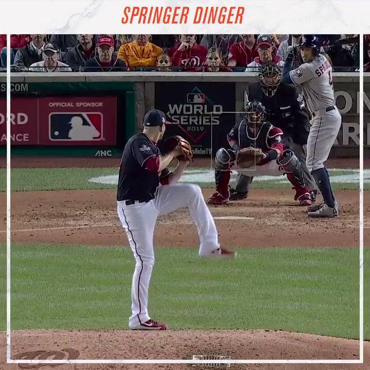 @astros's photo on springer dinger