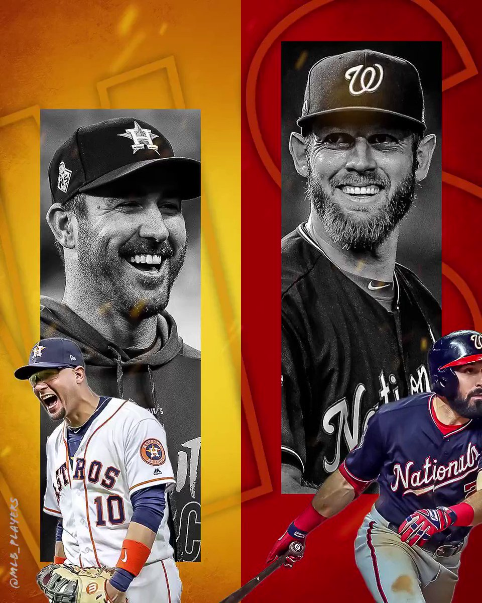 With @JustinVerlander & the @astros ONE win away from being crowned #WorldSeries Champions, #StephenStrasburg & the @Nationals look to bounce back with another W to tie up the series! #OctoberReady #Game6