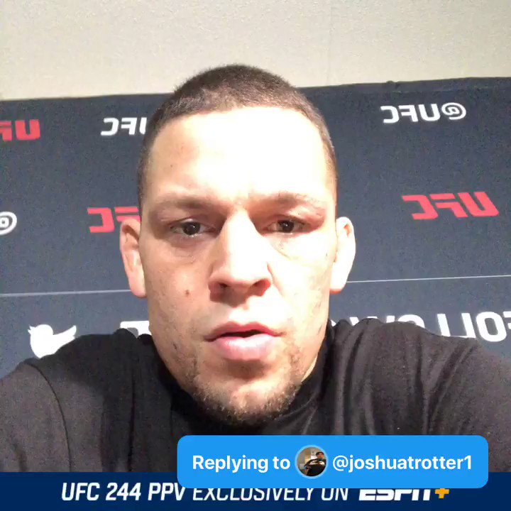 Q: #AskDiaz will marijuana be legal in all 50 states by 2025? - @joshuatrotter1  A: #UFC244 smoke weed everyday