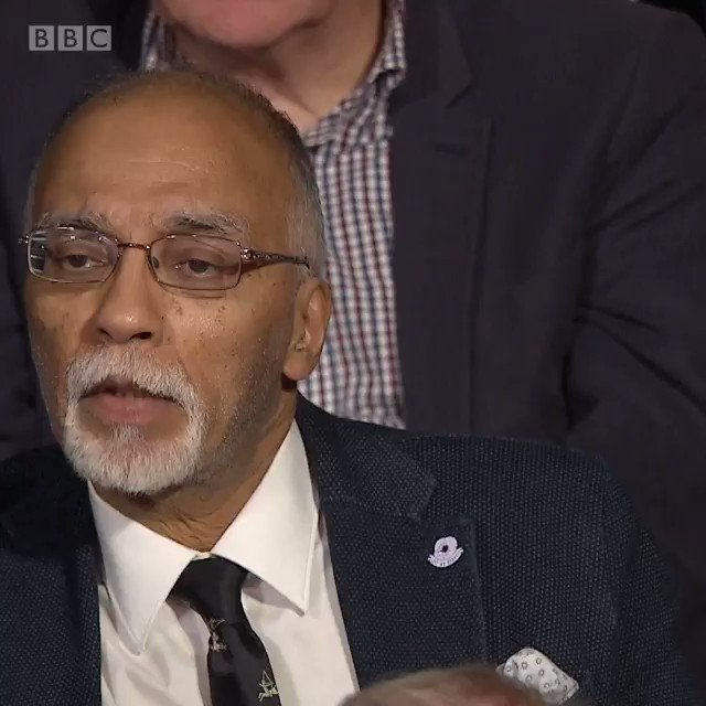 """""""Brexit is a nightmare."""" This NHS consultant in the audience says Scotland should abandon a post-Brexit UK. #bbcdn"""