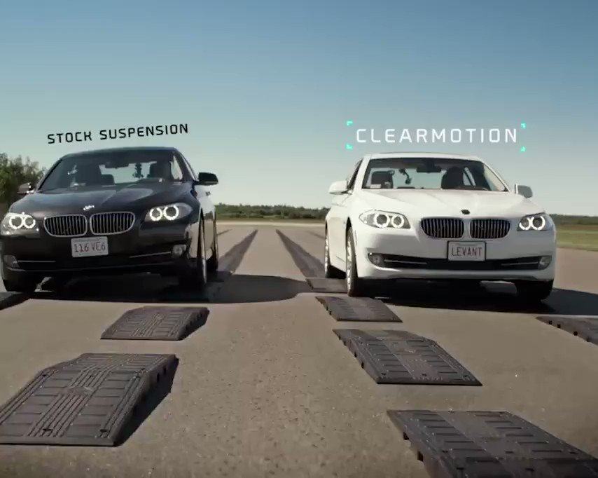 This technology makes your car last much longer and your ride smoother.🚗 #AI #Automotive #Innovation #Tech clearmotion.com @SpirosMargaris @jblefevre60 @MikeQuindazzi @chboursin @JeroenBartelse @mvollmer1 @diioannid @labordeolivier @ramonvidall @Ym78200 @sallyeaves