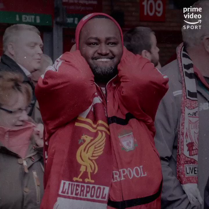 Rwandan Liverpool fans visiting Anfield for the first time   Brilliant, this 👏  https://t.co/ABtv5UWyQk
