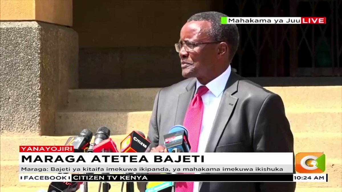"""""""Unless the budget cuts are reversed, we do not have money for fuel, we will not have mobile courts, we will not have the court of Appeal circuits, we will not be able to pay for wi-fi for the e-filing and e-payments, plans to automate corruption courts will halt…"""" – CJ Maraga"""