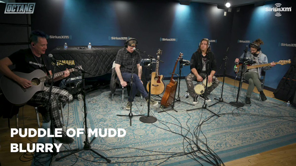 "Nearly 20 years later and Puddle of Mudd's ""Blurry"" is still undeniably catchy. Puddle of Mudd performs 'Blurry' on SiriusXM @siriusxm #puddleofmudd #siriusxm #puddleofmuddblurry #bands #music #hollywood"