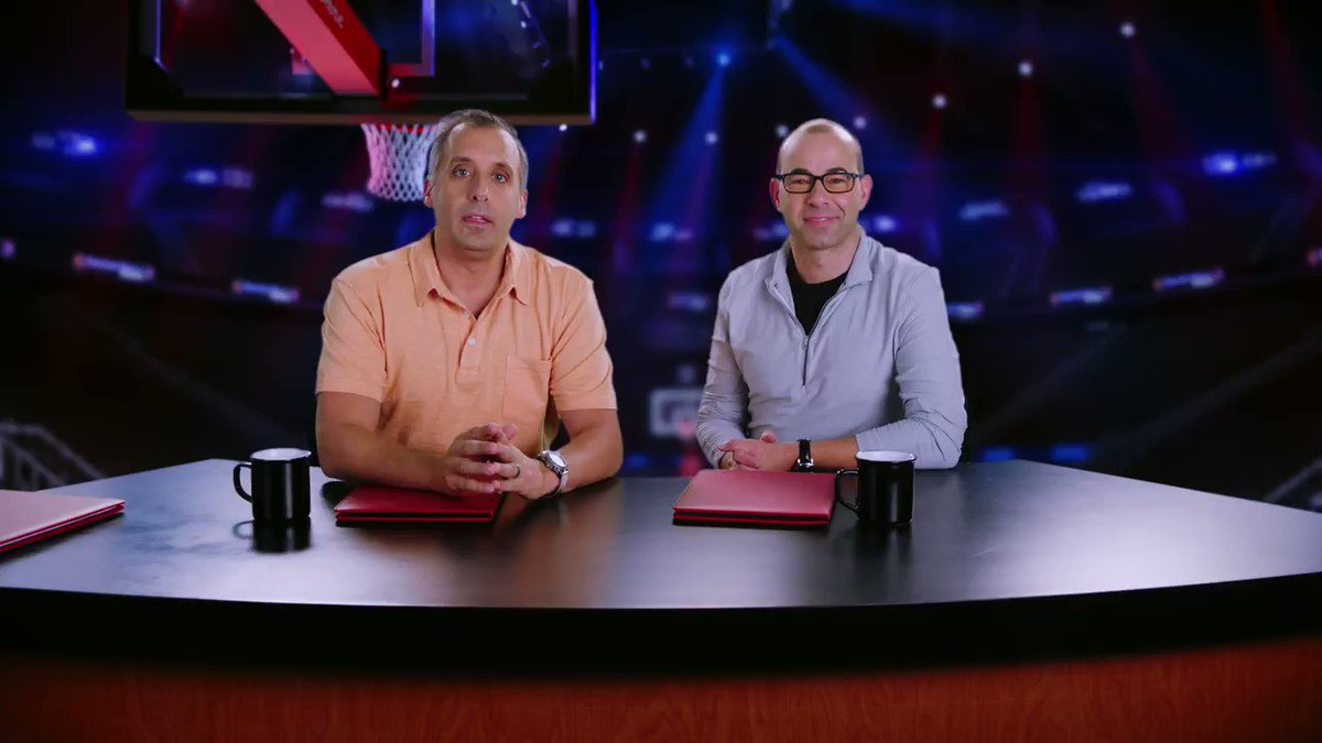 Kicking off NBA Season with a special version of The Misery Index: Inside the NBA Edition with @joe_gatto and @jamessmurray. Set your DVR and tune in to a new episode of @MiseryIndexTBS tomorrow at 10:30/9:30p CT on @TBSNetwork!