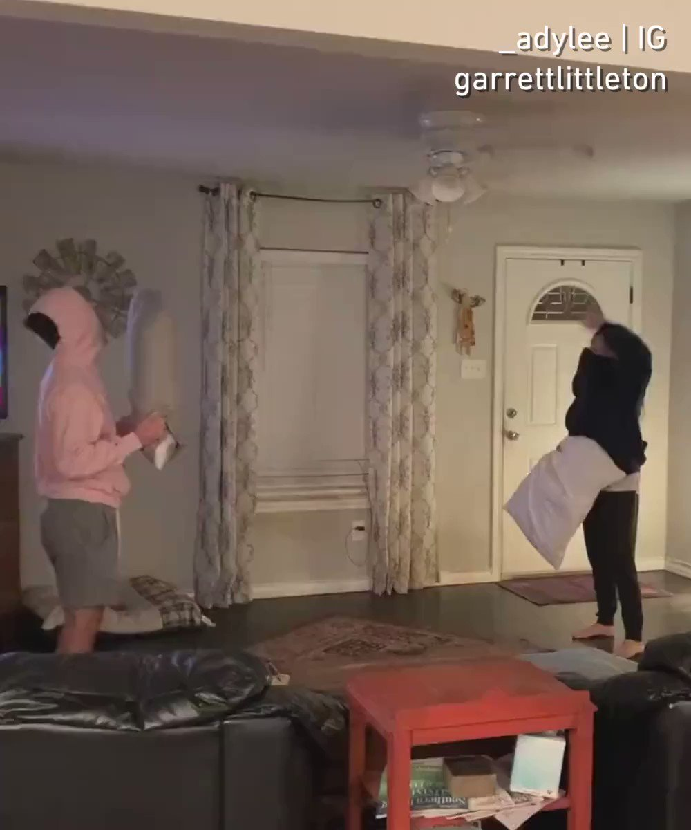Awesome game but I would have to remove everything from the room.  📹 _adylee & garrettlittleton   IG