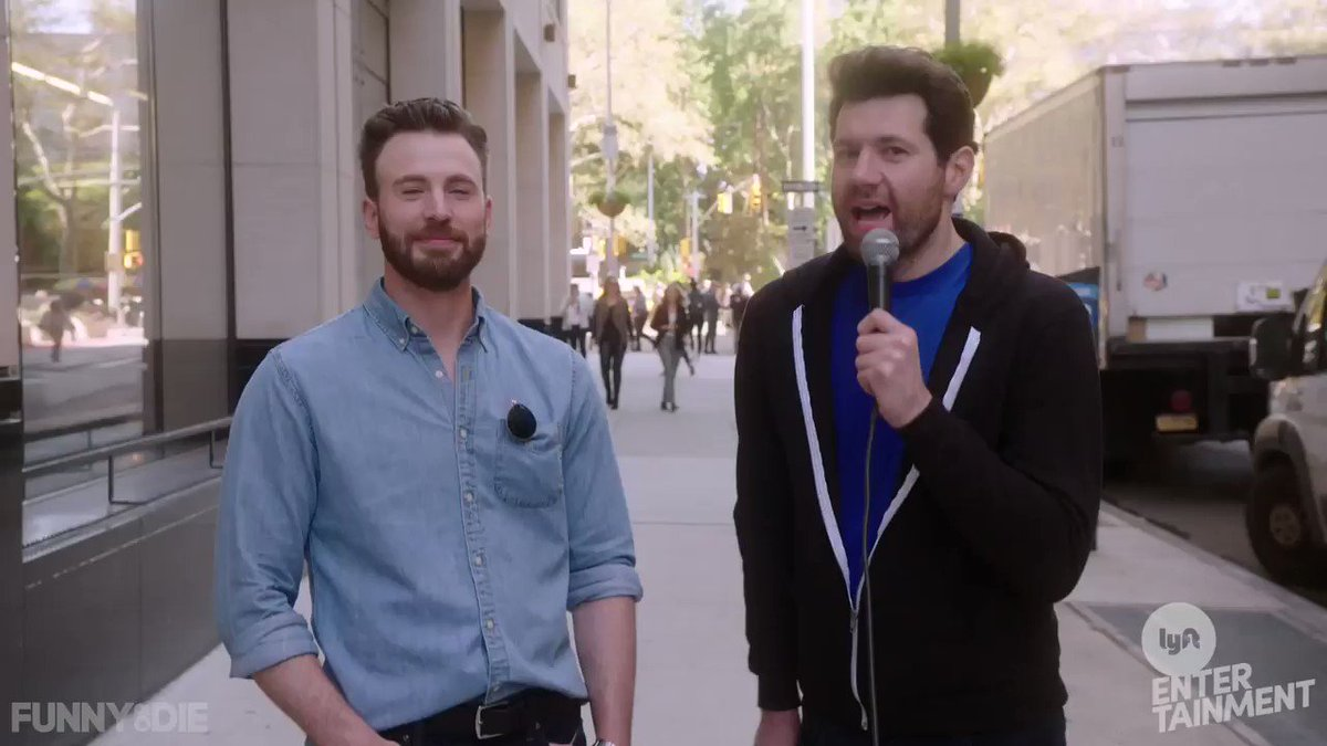 NEW BILLY ON THE STREET WITH @ChrisEvans!!!!! LETS GO!!!!!!!!