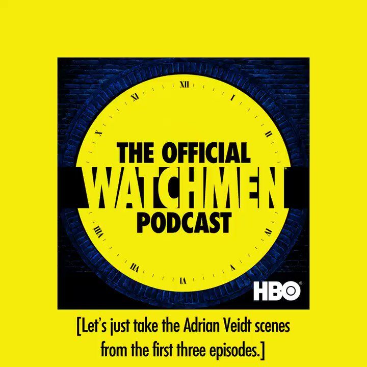 Dive deep with The Official #Watchmen Podcast before a new episode premieres this Sunday. podcasts.apple.com/us/podcast/mas…