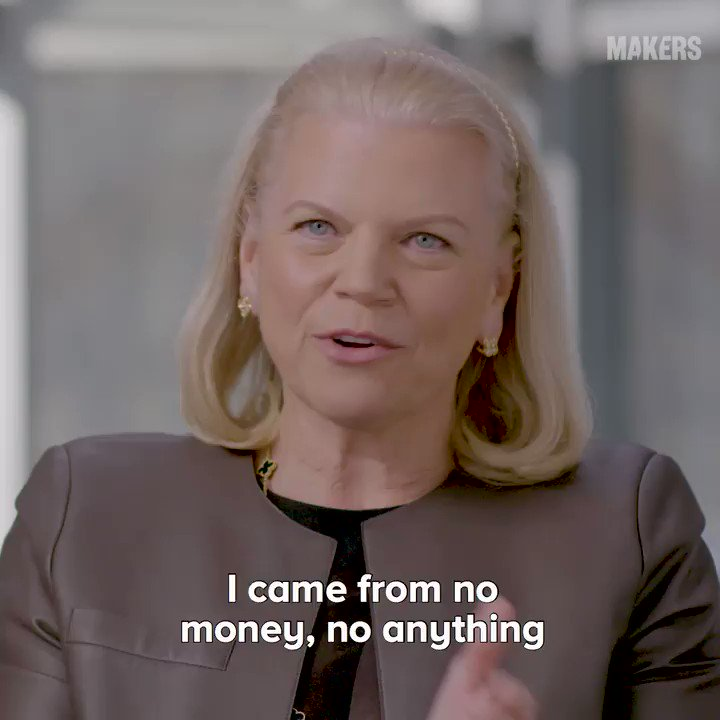 Ginni Rometty describes working her way up from poverty with coding chops and business instincts that took her all the way up the ranks to CEO of @IBM. 🙌 https://t.co/FQuztRajmy #NationalSTEMDay #SheCanSTEM https://t.co/SAhOLIWmIs