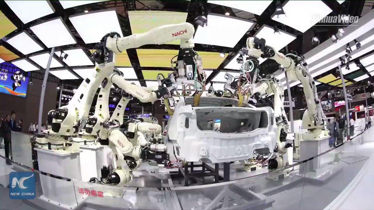 #Robotics #FutureOfWork #IIoT #AI #Security #CyberSecurity What happens when factories of tomorrow no longer need factory workers? @XHscitech TY @GlenGilmore & @HeinzVHoenen 🎥 #FF: @StephaneNappo @domhalps @mvollmer1 @AghiathChbib @chboursin @ChuckDBrooks
