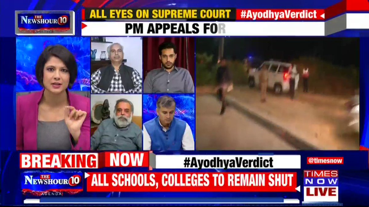 This is not just a dispute between communities. This is about how we look at the verdict of the highest court: @rasheedkidwai, Senior Journalist tells Padmaja Joshi on @thenewshour AGENDA.   #AyodhyaVerdict