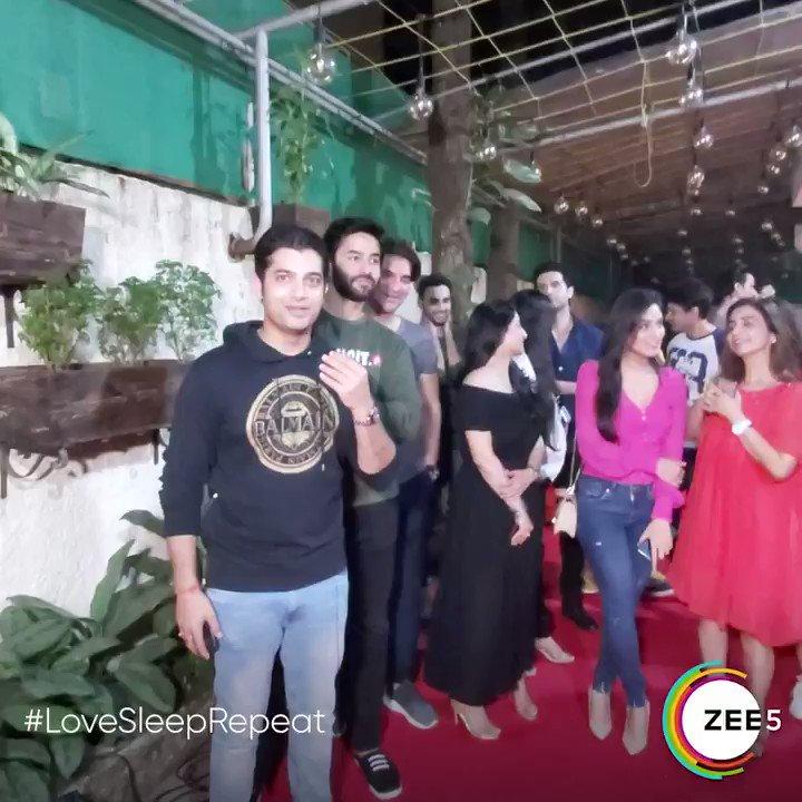 We've made it. They've seen it. Now it's your turn to enjoy it! #LoveSleepRepeat, now streaming on #ZEE5.  Watch now:   #PehlaPyaarHarBaar #LoveSleepRepeatOnZEE5 #LoveIsInTheAir #Those7Days