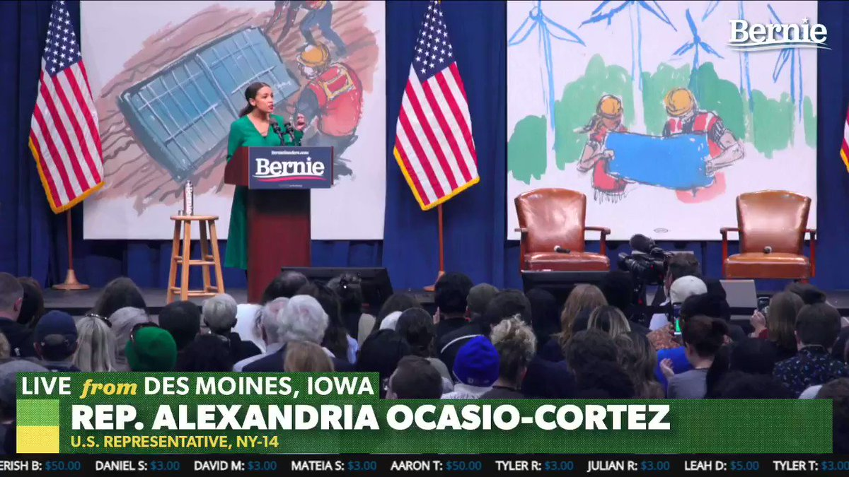 Heres the thing about big money. That big money is very lonely because weve got people on our side. The thing about billionaires is that theres not too many of them. -@AOC
