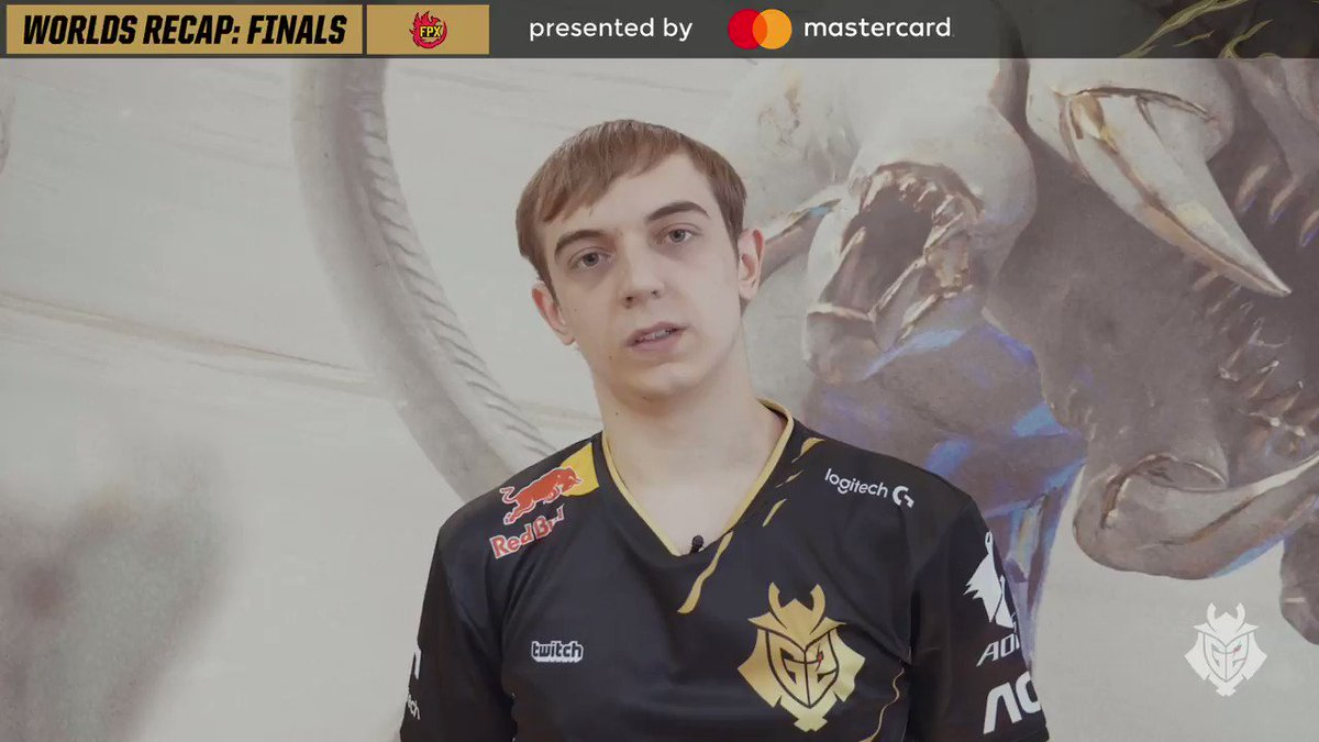 It was a tough pill to swallow 😔 As our #Worlds2019 run comes to an end, @G2Caps gave us a recap on how the day went. Presented by @MastercardNexus.